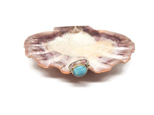 Larimar Ring by Linda Blumel