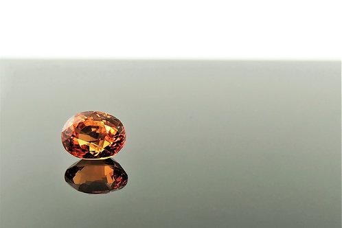 Oval Orange Hue Garnet