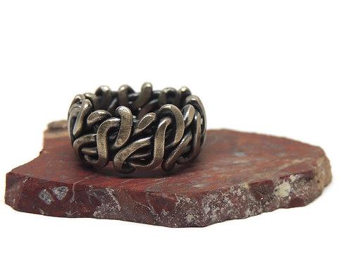 Winding Path Woven Ring by Davis Hatcher