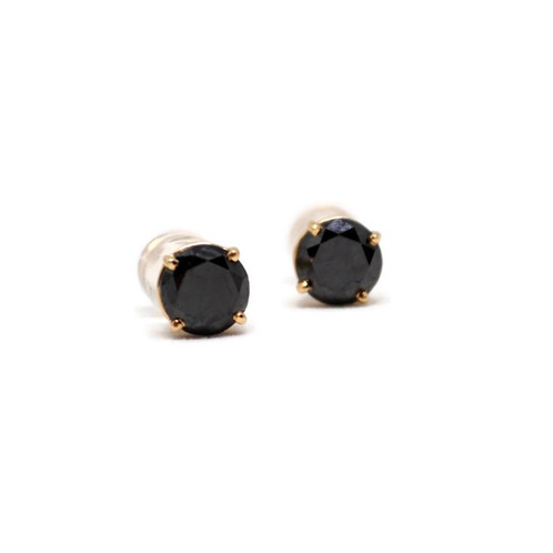 These Black Diamond Earrings Are A Stunning Alternative To Traditional Studs Perfect For Everyday Wear Matches Everything