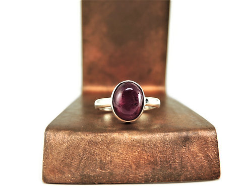 Large Oval Ruby Ring