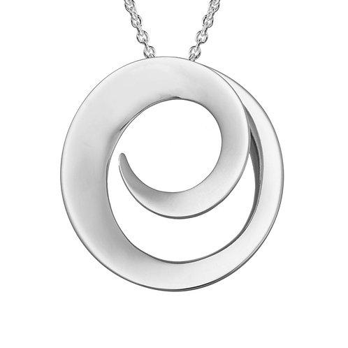 Open Swirl Pendant