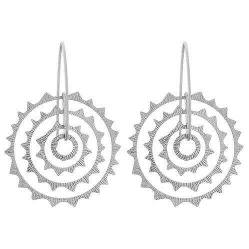 Soiell Circle Drop Earrings