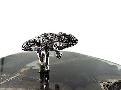 Sterling Silver Chameleon Ring