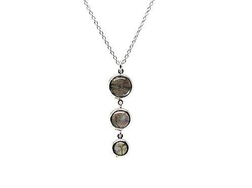 Three Piece Labradorite Necklace by Stephen Estelle