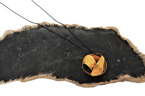 Sterling Silver Barcelona Globe Necklace