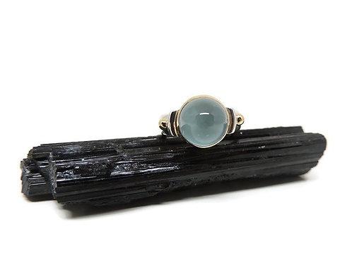 Aquamarine Ring by Linda Blumel