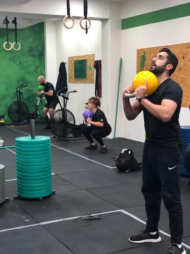 Nosso espaço - Aula no CrossFit Caravelas