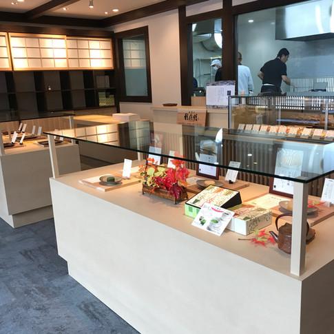 京都の女性一級建築士【日菜(ひな)設計室】和菓子屋&カフェ リノベーション