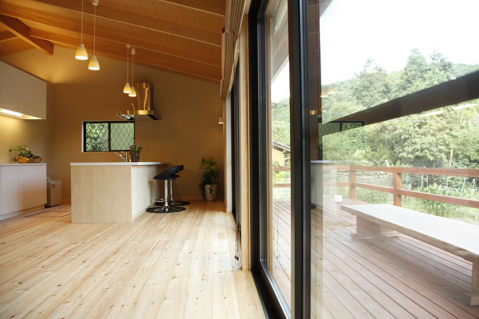 京都の女性一級建築士【日菜(ひな)設計室】別荘