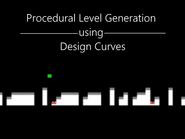 Procedural Level Generation using Design Curves