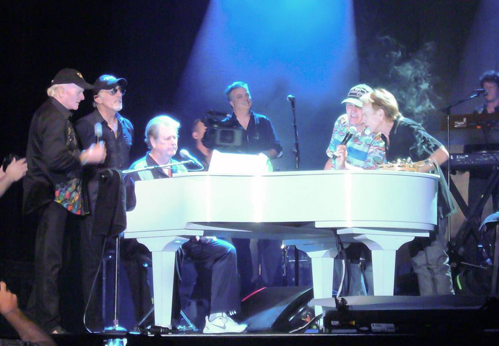 Beach Boys - Mike Love,David Marks, Brian Wilson,Bruce Johnson, Alan Jardine 2012