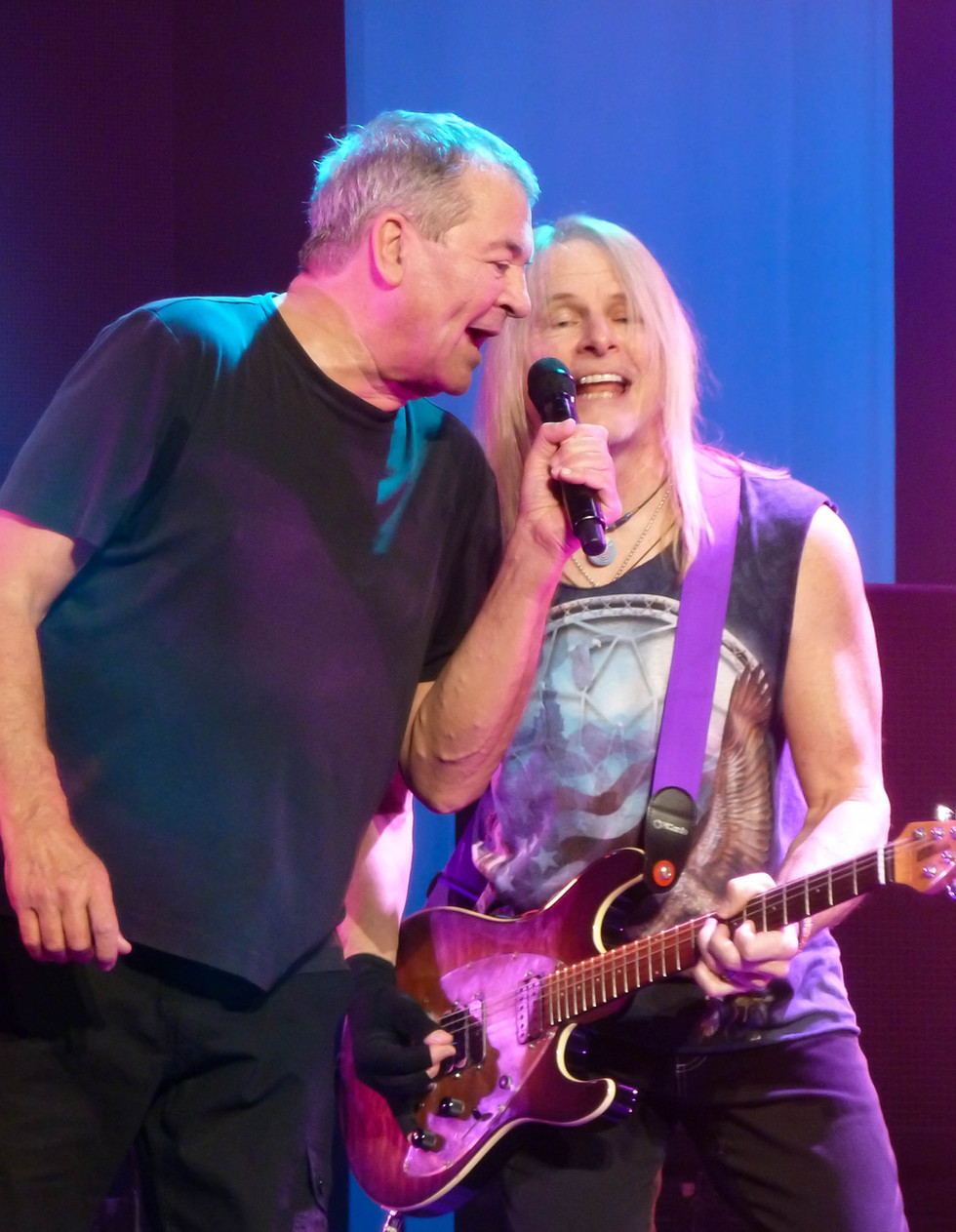Deep Purple: Ian Gillain, Steve Morse 2015