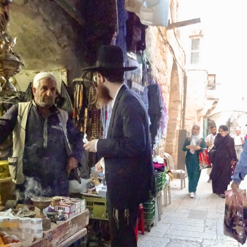 Jerusalem arab quarter