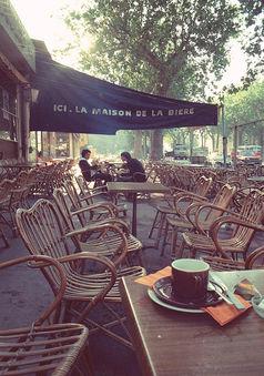Boulevard des lices, Arles 1975