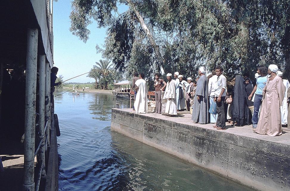 Luxor Nile crossing