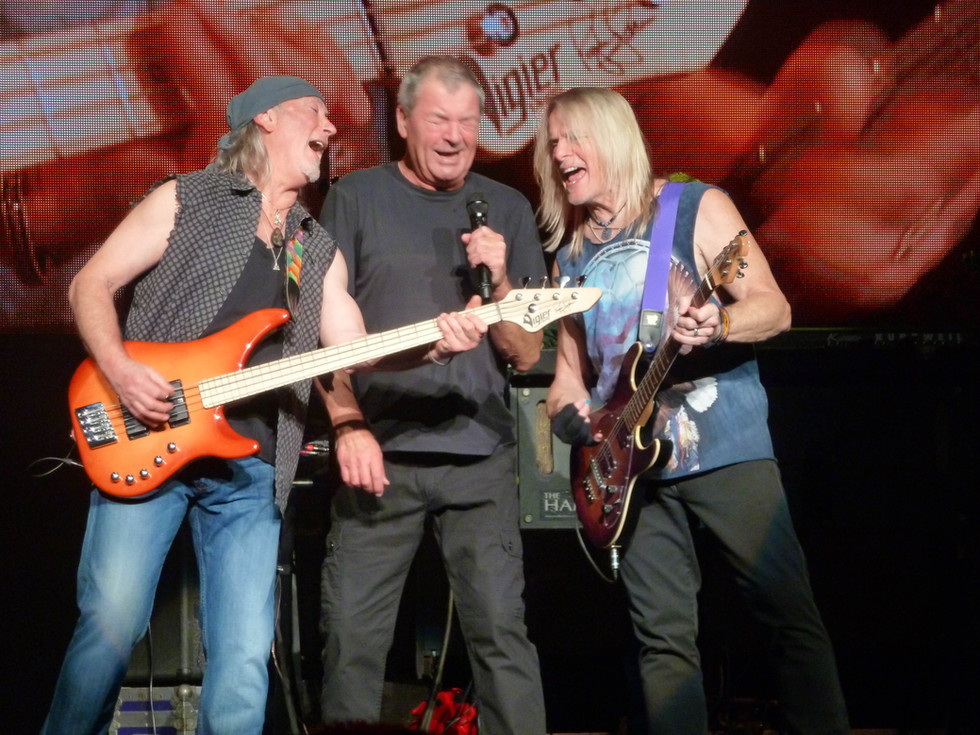 Deep Purple: Roger Glover , Ian Gillian, Stve Morse, 2015