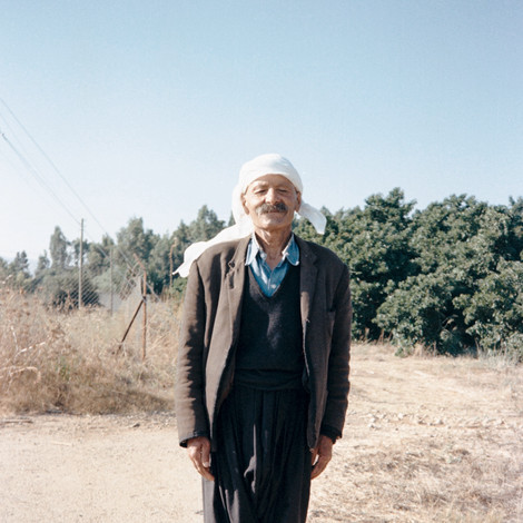 Kibbutz DAN-he was very proud to have his picture taken