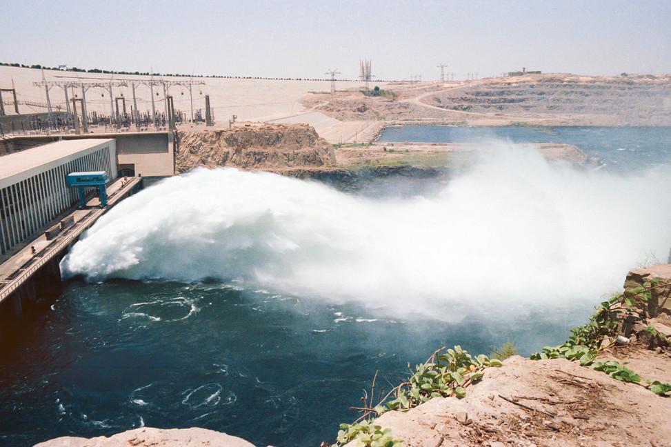 Assouan dam