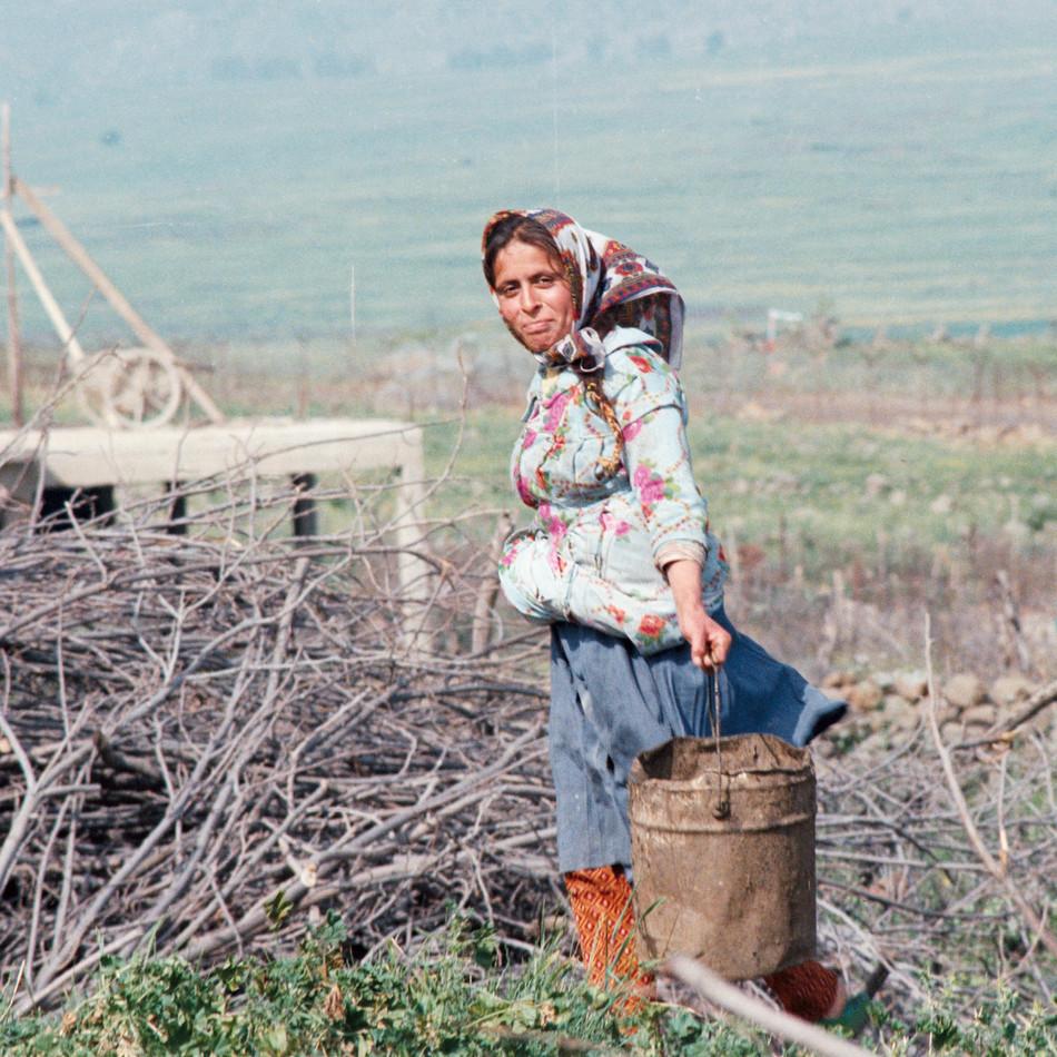 Village close Lebanon