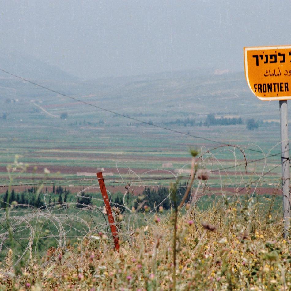 no mans land,  Lebanon/Golan