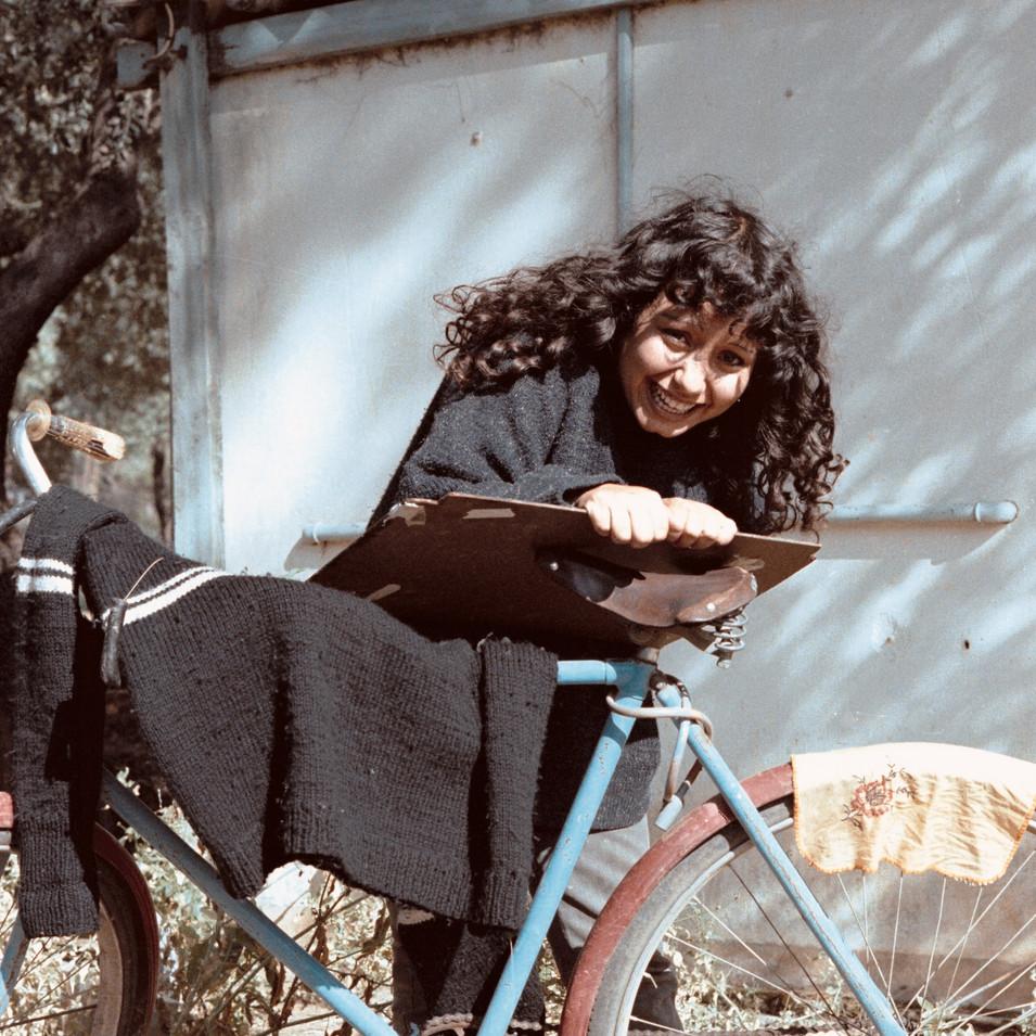 Kibbutz girl in DAN