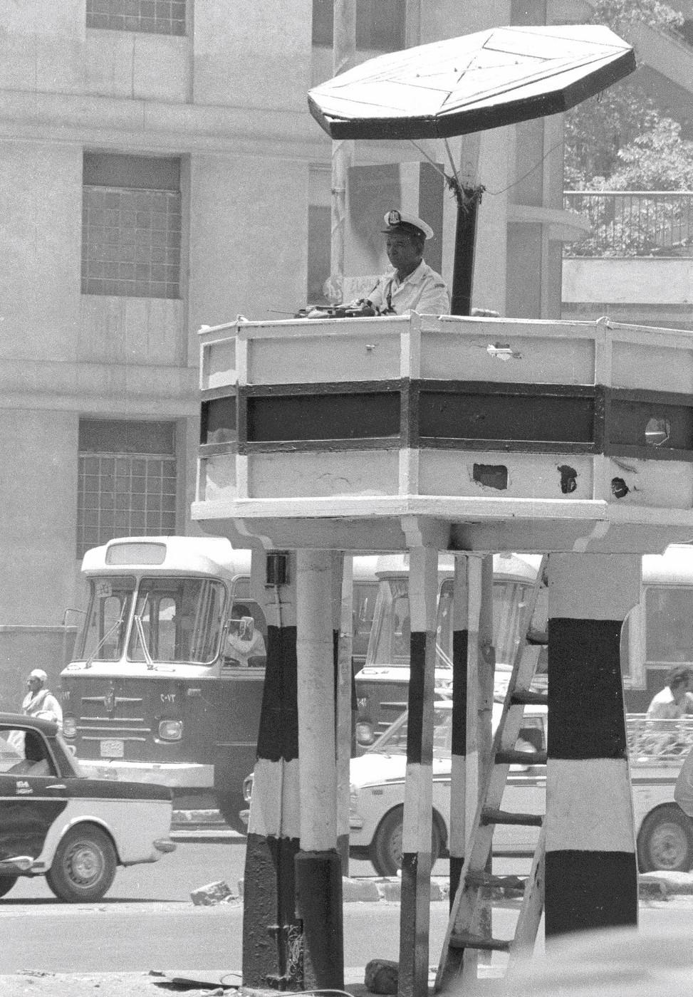 Cairo traffic chief
