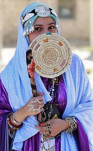 Libyan Girl Hiding