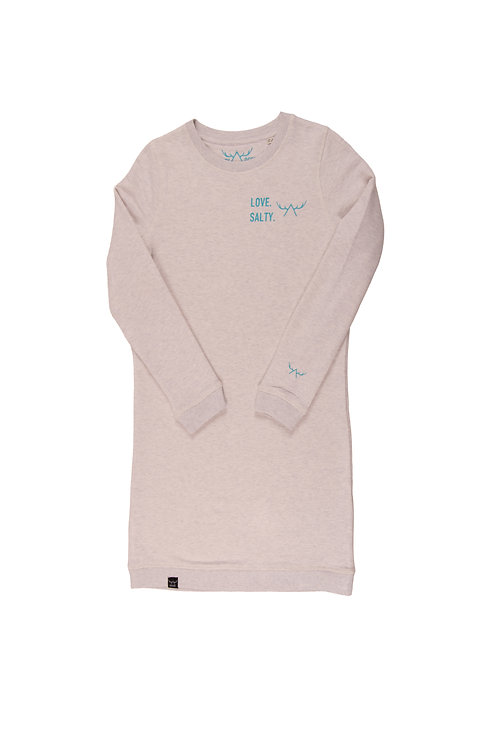 LOVE. SALTY. Sweatshirt Kleid