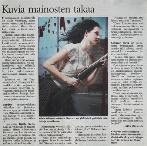 HELSINGIN SANOMAT 2005