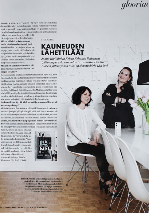 GLORIAN KOTI magazine 2013