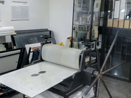 La tarlatana - Tiefdrucken in Rom