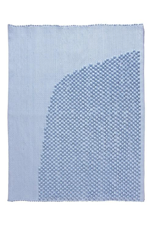 bath rug CHIES light blue