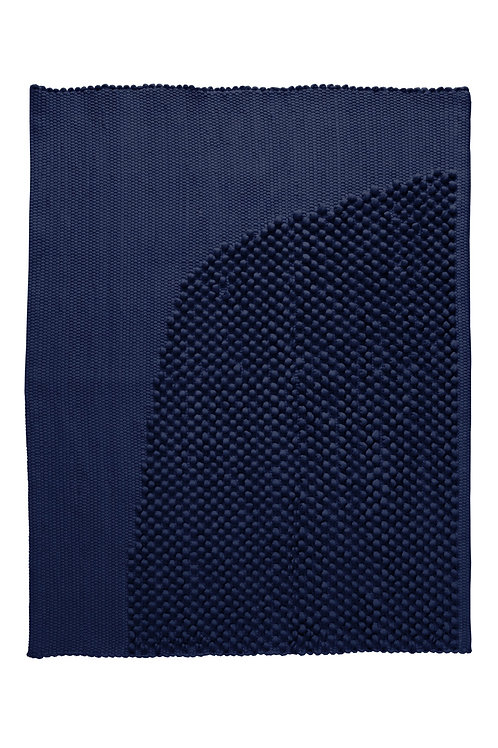 Bath rug CHIES navy