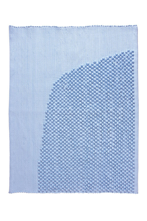 bath rug CHIES light blue