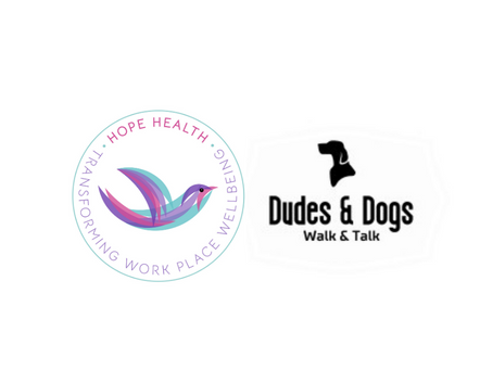 Hope Health and Dudes & Dogs Partnership Launch