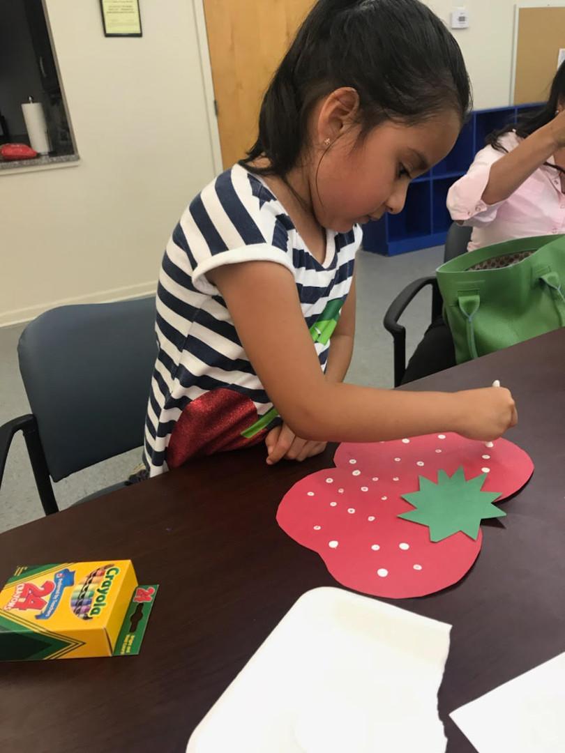 Preschooler craft