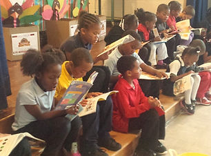 African American Students Reading