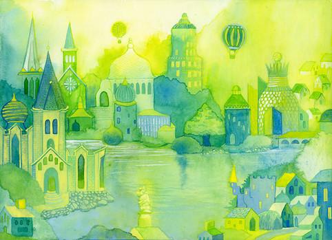 Imaginary City #3: St. Ephraim