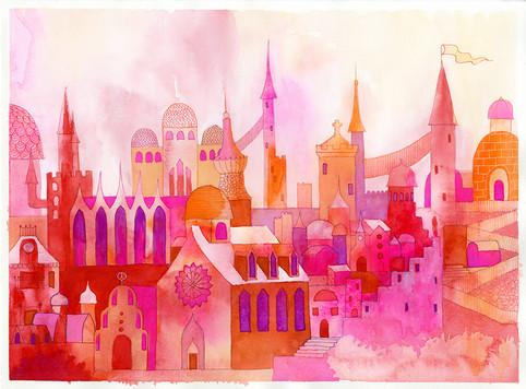 Imaginary City #1: Elektra City