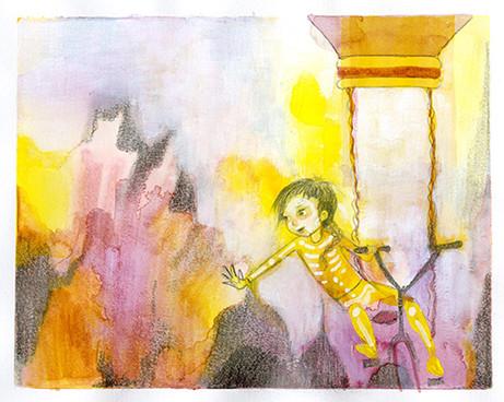 Girl With Golden Bones