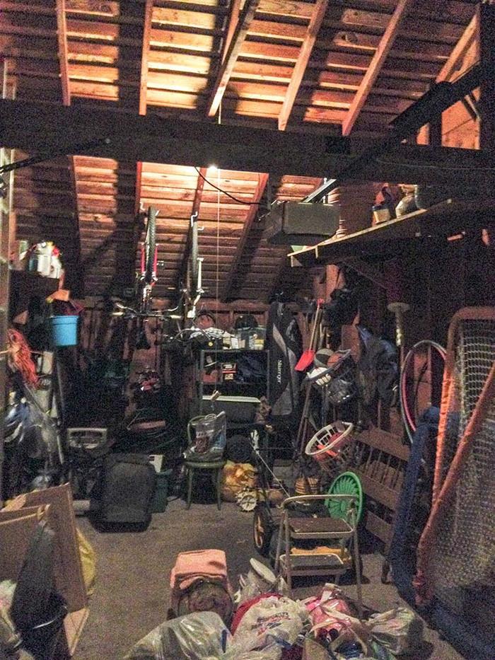 Garage Storage Before