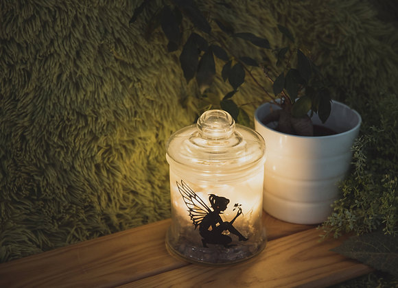 Tinker Bell Jar Light