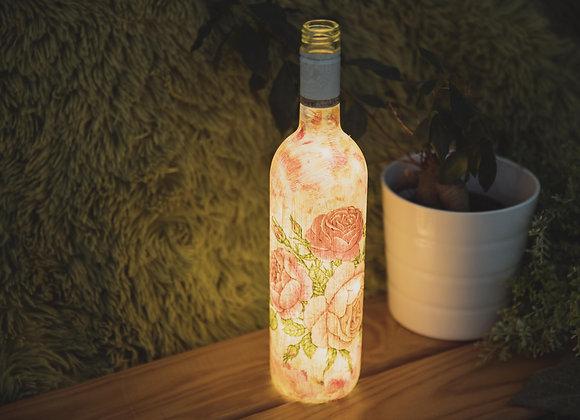 Flower Power Bottle Light