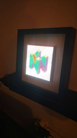 32 by 32 RGB display adafruit