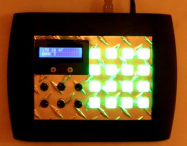 Home made Midi controller