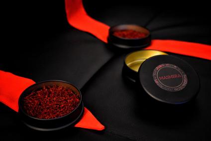 image de l'épice de safran biologique d'