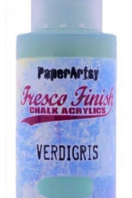 Verdigris PaperArtsy Paint