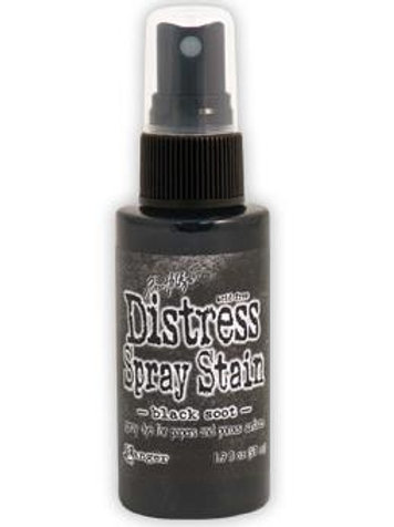 Black Soot Distress Spray Stain