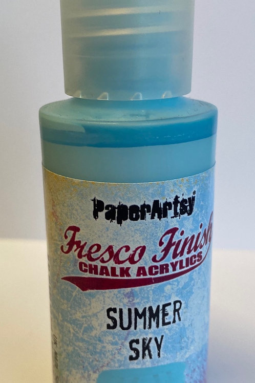 Summer Sky Paint by PaperArtsy